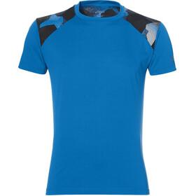 asics fuzeX T-shirt Homme, directoire blue